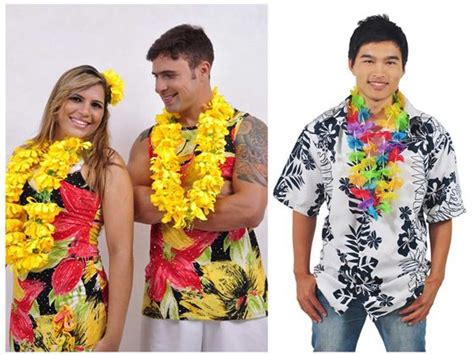 Fantasias Estilo Havaiano