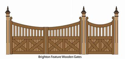 Gate Gates Wooden Fence Clipart Fencing Picket