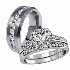 15 inspirations of cheap wedding bands sets his and hers With cheap his and hers wedding rings
