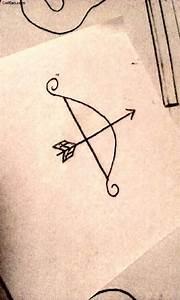 Amazing Bow Arrow Tattoo Design Picture - Golfian.com