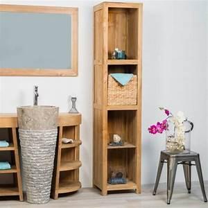 Meuble Rangement Salle De Bain : 1001 id es tag re wc 40 mod les pour trouver le ~ Edinachiropracticcenter.com Idées de Décoration