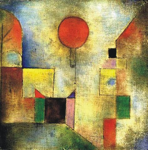 paul klee expressionist painter tutt pittura scultura poesia musica