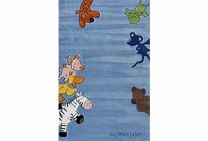 Teppich Die Lieben Sieben : die lieben sieben kinder teppich blau ko tex zertifiziert kinderteppich hund trecker b r ~ Whattoseeinmadrid.com Haus und Dekorationen