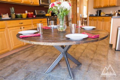 buy  hand crafted modern rustic  table  double