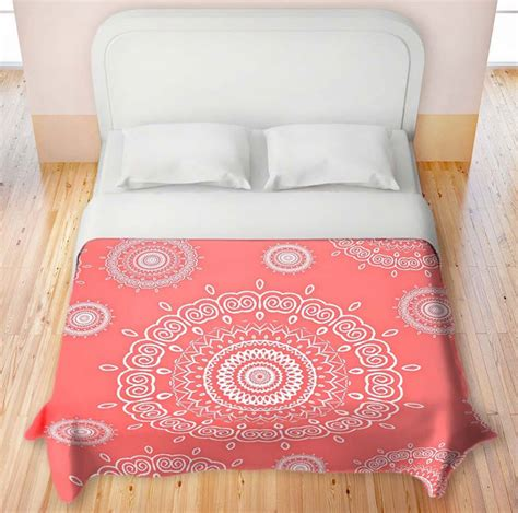 Coral Colored Bedding by Coral Colored Comforter Choozone