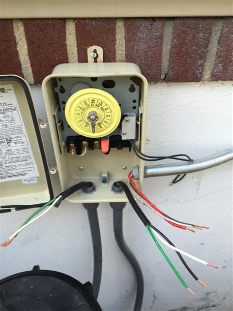 Wiring Pool Timer Doityourself Community Forums