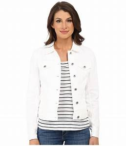 Two By Vince Camuto Jean Jacket Ultra White Shipped Free