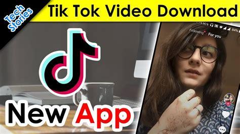 tik tok musically kaise kare new app how to save tiktok without watermark