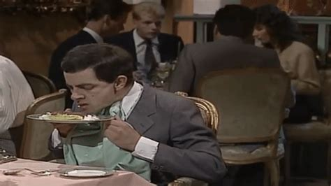 mr bean cuisine mr bean gif find on giphy