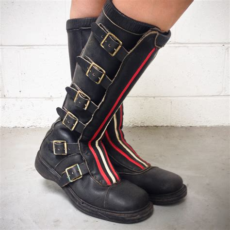 vintage motocross boots for wheelsport rugged rider boots moto lady
