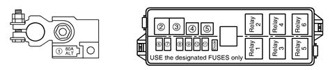 Suzuki Igni Fuse Box Diagram by Follow Up Of Cooling Fan Relay Question There Are 2