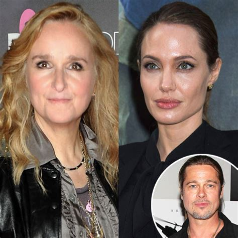 melissa etheridge clarifies angelina jolie double