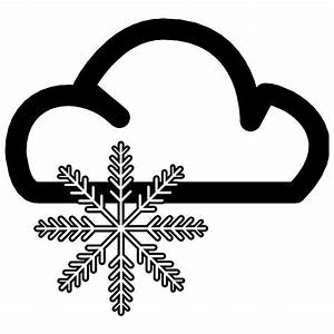 SNOWFALL WEATHER VECTOR SYMBOL - Download at Vectorportal