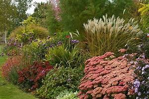 Quoi Planter En Automne : massif de vivaces l 39 automne en majest sc nes de jardins ~ Melissatoandfro.com Idées de Décoration