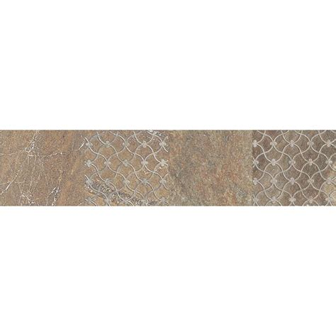 daltile ayers rock bronzed beacon 3 in x 13 in glazed