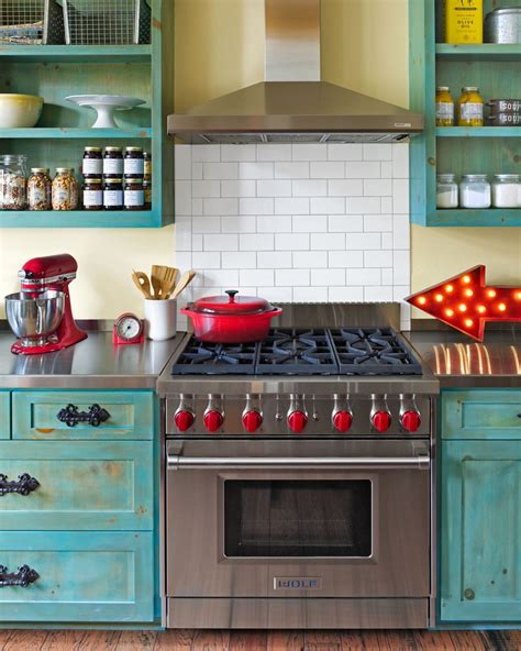 Colorful Cabinets by Decor Inspiration Colorful Kitchens That Work Design