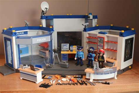 bureau playmobil playmobil politie bureau 4263 2e playmo
