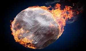 explaining meteors    danger science  guardian