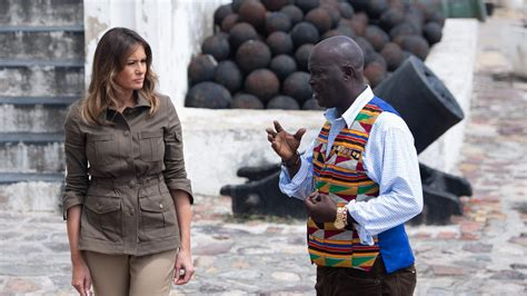 Aiming promote the ghanaian and african music across the world, it allows people to access music very quickly. Melania Trump in the footsteps of millions of slaves in Ghana