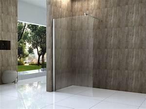 Glasscheibe Für Dusche : vacante 120x200cm duschwand 10mm glas walk in dusche ~ Lizthompson.info Haus und Dekorationen