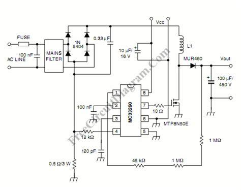 Active Power Factor Correction Circuit Diagram World