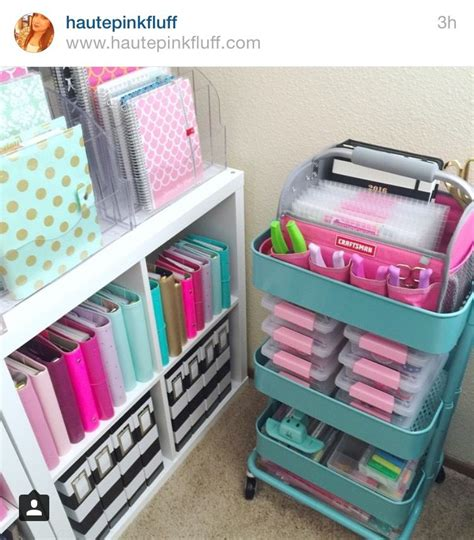 Love The Organization Style And Colors!  Craft Rooms