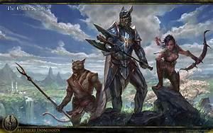 Aldmeri Dominion Wallpaper Elder Scrolls Online Guides