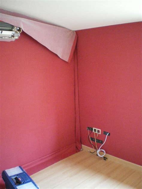 toile pour chambre tenture murale et tissu tendu deux types de pose dossier