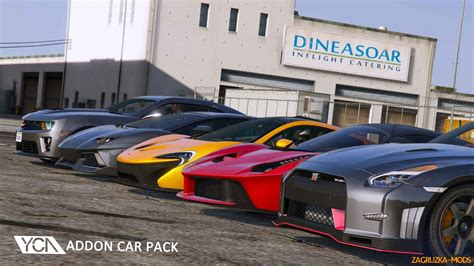 Addon Car Pack V101 By Ycare For Gta 5 » Download Game