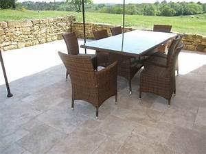 Imperméabilisant Pour Terrasse : dalle en pierre de bourgogne un mat riau noble et ~ Premium-room.com Idées de Décoration