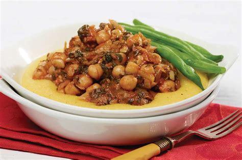 congeler des plats cuisin駸 rago 251 t de pois chiches sur polenta recette fondation olo