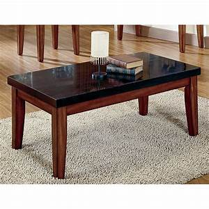 rectangle black granite coffee table counter top plus four With round granite top coffee table