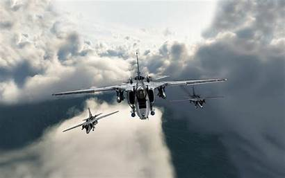 Fighter Jet Military Aircraft Digital Jaguar Sepecat