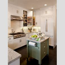 How To Make An Island Work In A Small Kitchen