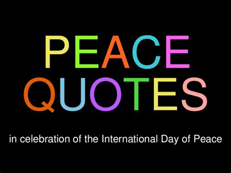 peace quotes  inspire