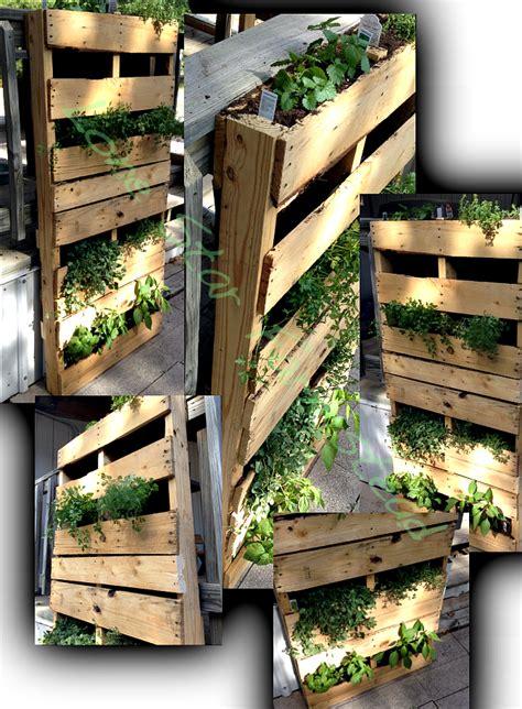 vertical pallet garden vertical pallet garden lone farmstead