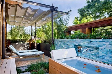 outdoor spa ideas outdoor spa ideas for your home inspiration and ideas from maison valentina