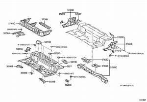 Toyota Tundra Striker Assembly  Luggage Hold Belt  Striker