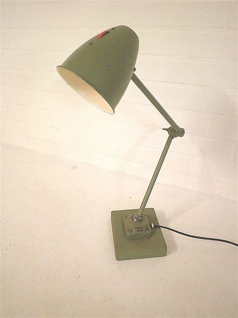 vintage bureaulamp industrieel military bestwelhip