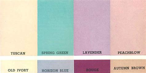 Vintage Blue Bathroom Colors From Seven Manufacturers From