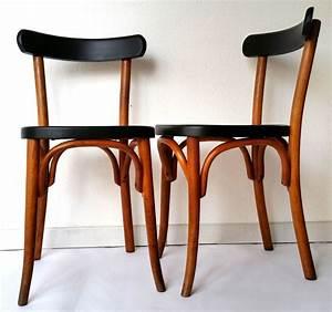 Table Et Chaise Bistrot : chaises de bistrot style baumann ann es 50 salons ~ Teatrodelosmanantiales.com Idées de Décoration