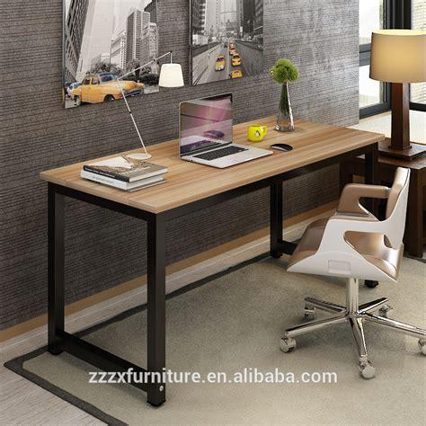 bureau avec plan de travail accueil mobilier bureau table ordinateur de bureau en bois