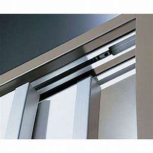 rail de porte coulissante topline 110 hettich bricozor With rail de porte coulissante