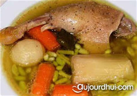 pot au feu au canard pot au feu de canard canard poireaux carottes recette plat aujourdhui