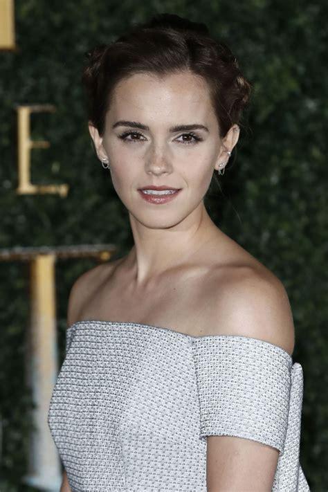Emma Watson Beauty The Beast Launch Event