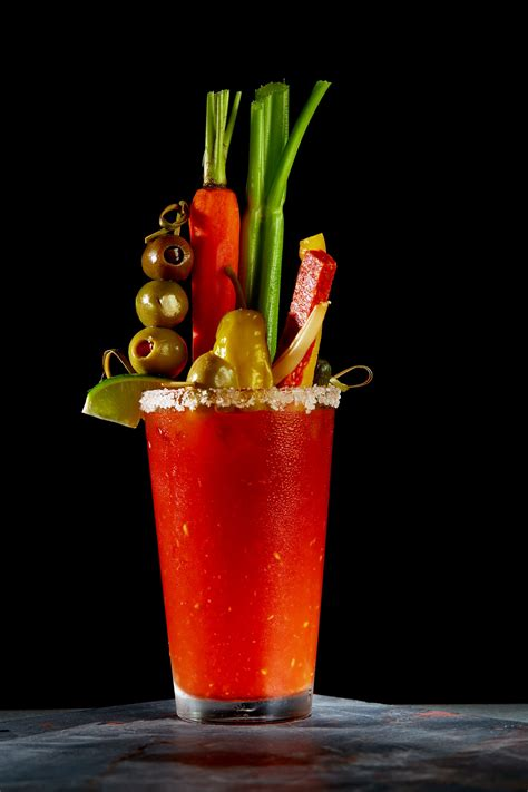 bloody drink cocktail photography the cooper palm beach gardens