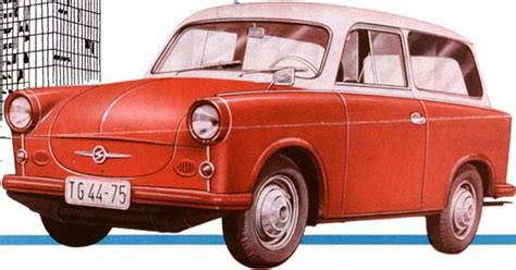 Trabant P50 Prospekt 1959