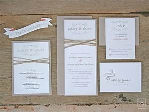 jaw dropping rustic wedding invitation kits theruntimecom With wedding invitation card making kits