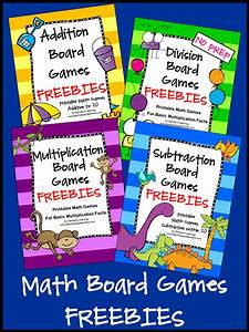 FREEBIES - Math Board Games - fun, no prep, games!   Math ...