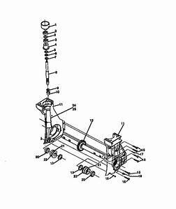 Craftsman Mini Tiller  Cultivator Parts